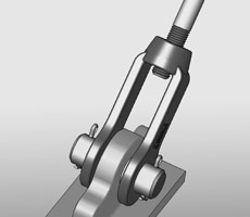 Typical clevis application