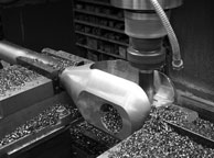 Machining a Wecall custom clevis